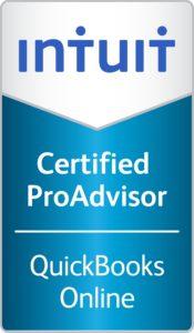 Certified QuickBooks Online ProAdvisor logo2